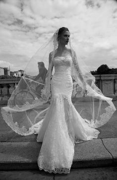 Mariage de mode 2016 - Collection ALESSANDRARINAUDO. THERRY ARAB16615. Robe de mariée Nicole.