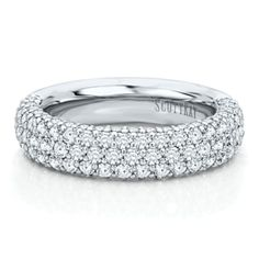 Diamond Anniversary Band from the Vibrant Collection, Artiste by Scott Kay - Wedding Jewelry by Helzberg Diamonds - Loverly
