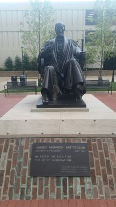 Monument to Mr. Patterson himself. I've heard this is good luck in some way