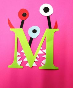 This page is a lot of letter m crafts for kids. There are letter m craft ideas and projects for kids. If you want teach the alphabet easy and fun . Letter M Activities, Preschool Letter Crafts, Alphabet Letter Crafts, Abc Crafts, Preschool Projects, Daycare Crafts, Toddler Crafts, Preschool Activities, Letter Tracing