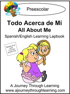 Todo Acerca de Mi (All About Me) Lapbook