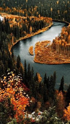 Amazing fall places