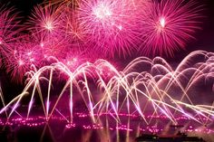 pink fireworks | Pink fireworks #fireworks Pink Fireworks, Best Fireworks, Fireworks Photos, Pink Power, Everything Pink, Head And Neck, Favorite Color, Hot Pink, Dream Wedding