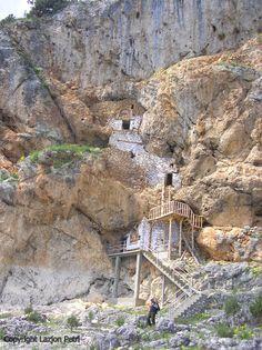 Prespa National Park (Albania) » Kishat Eremite Të Ndërtuara Në Shkëmb ( Eremit churches)