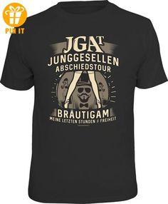 JGA - Bräutigam - T-Shirt - Größe L - T-Shirts mit Spruch | Lustige und coole T-Shirts | Funny T-Shirts (*Partner-Link)
