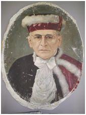 Sem Título, 1951. Óleo sobre tela, 58 x 46 cm. Autora: Antonieta Santos Feio.