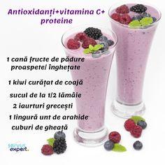 Healthy Juices, Healthy Nutrition, Healthy Smoothies, Healthy Drinks, Smoothie Recipes, Diet Recipes, Cooking Recipes, Healthy Recipes, Healthy Food