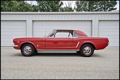 I will have one before I die ... 1965 Ford Mustang Coupe ... Tiffany blue with white leather interior ... sigh