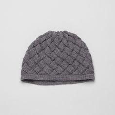Bottega Veneta Lead Wool Hat