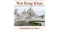 Wat Rong Khun - Fascination en blanc (Calendrier mural 2021 300 × 300 mm Square) Fascinator, Monthly Calender, Stationery Set, Headdress, Headpiece