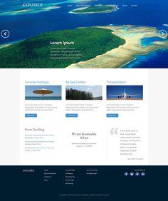 Hot Explorer - Responsive Joomla Template for Travel Websites