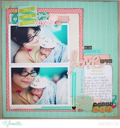 {and scrapbooking classes with cupcakes.}: Thoughts on scrapbooking birth story Baby Boy Scrapbook, Birthday Scrapbook, Wedding Scrapbook, Travel Scrapbook, Scrapbook Paper, Scrapbook Designs, Scrapbook Sketches, Photo Album Scrapbooking, Scrapbooking Layouts