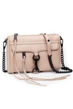 551ff2fa88 Rebecca Minkoff - Mini M.A.C Crossbody - Latte Contemporary Fashion, My Bags,  Rebecca Minkoff