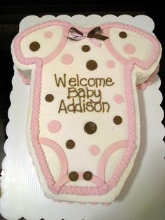 Meet the Matterns: Baby Shower Cakes