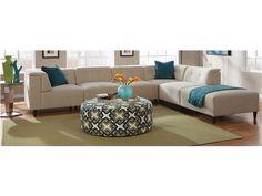 Jonathan Louis International Living Room 6 Piece Modular Sectional    Kittleu0027s Furniture   Indiana And Ohio