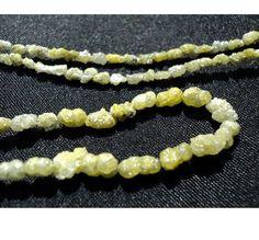 Yellow Diamonds Raw Diamonds Conflict Free by gemsforjewels