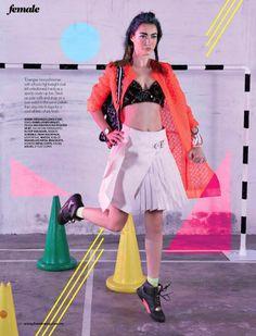 Marcella van Leen by KK Yong for Female Magazine June 2014
