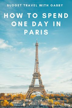 PARIS IN ONE DAY