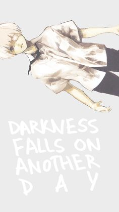 Darkness falls on another day
