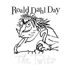 Roald Dahl Coloring Pages - The Twits
