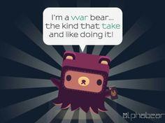 Serious bears.