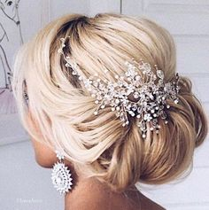 Featured Hairstyle: Ulyana Aster www.ulyanaaster.com; Wedding hairstyle idea. #weddinghairstyles