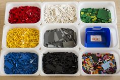 How to store and organize 9000+ LEGO bricks - IKEA Hackers