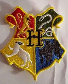 Time Turner Iron On Sew On Patches harry potter motif hogwarts sand Embroidery