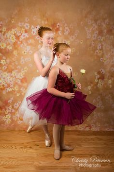 Ballet photography session