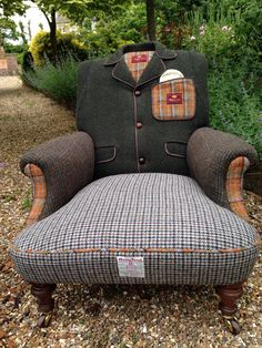 Vintage Harris Tweed 'Crombie' Overcoat by RescuedRetroVintage, £1795.00