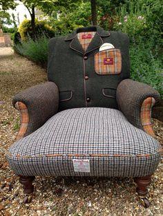 Vintage Harris Tweed 'Crombie' Overcoat by RescuedRetroVintage, £1795.00