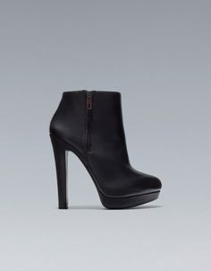 WIDE HEEL ANKLE BOOT - Boots and ankle boots - Shoes - Woman - ZARA