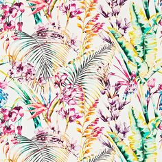 Harlequin Paradise fabric from Fashion Interiors | Botanical micro trend 2015 | housetohome.co.uk