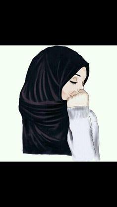 Gambar hijab drawing and art muslim hijab cartoon hijab Muslim Girls, Muslim Women, Tmblr Girl, Profil Facebook, Sarra Art, Facebook Profile Photo, Hijab Drawing, Anime Muslim, Muslim Hijab