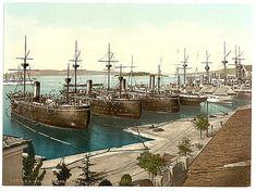 [Pola, the Navy Yard, Istria, Austro-Hungary]