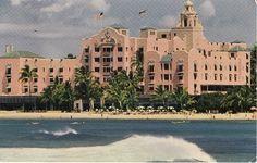 Royal Hawaiian Hotel, via Flickr.