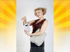 Sew an evening vest, a handbag clutch and a backpack. Master class. Tatyana Lazareva - YouTube