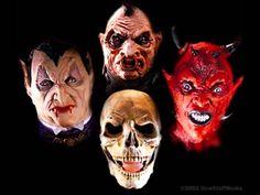 Cómo Hacer Máscaras De Halloween HD - YouTube                              …