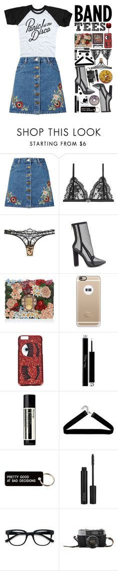 """I've Never Been So Surreptitious"" by sierrrrrra ❤ liked on Polyvore featuring Miss Selfridge, Alexander McQueen, I.D. SARRIERI, Dolce&Gabbana, Ødd., Casetify, Chiara Ferragni, Christian Dior, Aesop and Boohoo"