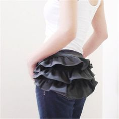 Aliexpress.com   Buy Halloween gift steam Funny Floral fanny costume pack  punk canvas skirt waist hip bag burning man pack for women from Reliable  Waist ... 3dfbefd9a0