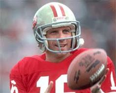 Joe Montana (born 11.6.56) is a retired pro football player of the San Francisco 49ers and Kansas City Chiefs. After winning a college national championship at Notre Dame, he started his NFL career in 79 with San Francisco, where he played for the next 14 seasons. He spent his final 2 years in the league with Kansas. While a member of the 49ers, Montana started in 4 Super Bowl games and won all of them. Montana was elected to the Pro Football Hall of Fame in 2000, his first year of…