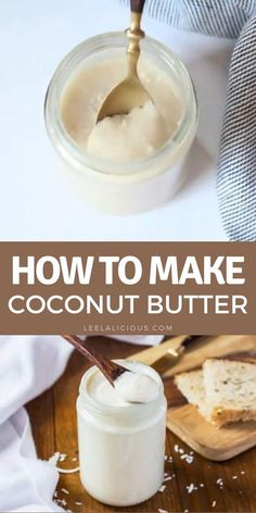 Learn how to make Coconut Butter at home with this easy process. All you need for this coconut butter recipe are shredded coconut and a high-speed blender or food processor. Homemade coconut butter is a fantastic spread and baking ingredient. Coconut Butter Recipes, Superfood Recipes, Time To Eat, Shredded Coconut, Baking Ingredients, Soul Food, Food Processor Recipes, Keto Recipes, Low Calories