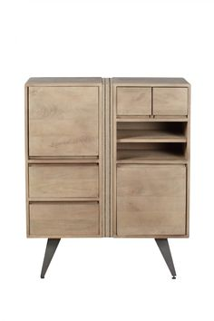 Cabinet Indiana, L82,5xl40xh100 cm #homeliving #homedecor Home And Living, Indiana, Cabinet, Storage, Furniture, Home Decor, Clothes Stand, Purse Storage, Decoration Home