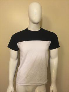 T-shirt Bl.&Wh. One Shoulder, Menswear, Blouse, T Shirt, Tops, Women, Fashion, Blouse Band, Tee