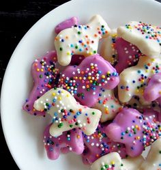 Homemade Circus Animal Cookies - Fork and Beans