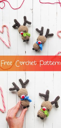 Amigurumi Christmas Tree Free Crochet Pattern | Ganchillo navideño ... | 496x236