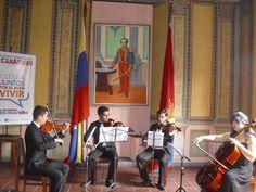 Cuarteto de Cuerdas con la participación de Geraldine Dávila, Bernardo Paraco, Luis González y Alejandro Belandria. Recital de Cuerdas 31/03 (@temporadaBACH) | Twitter