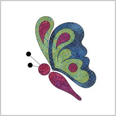 (7) Name: 'Quilting : Applique Add On's - Butterfly Bliss