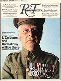 Dad's Army Gallery - Clive Dunn - Radio Times Cover 18-25 September 1970 Dad's Army, Army Day, Jimmy Perry, Home Guard, Bbc Tv Series, 25 September, Thing 1, St Albans, British Comedy