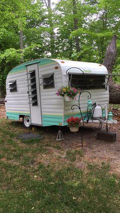 1968 Playmor Vintage Camper Remodel Photography
